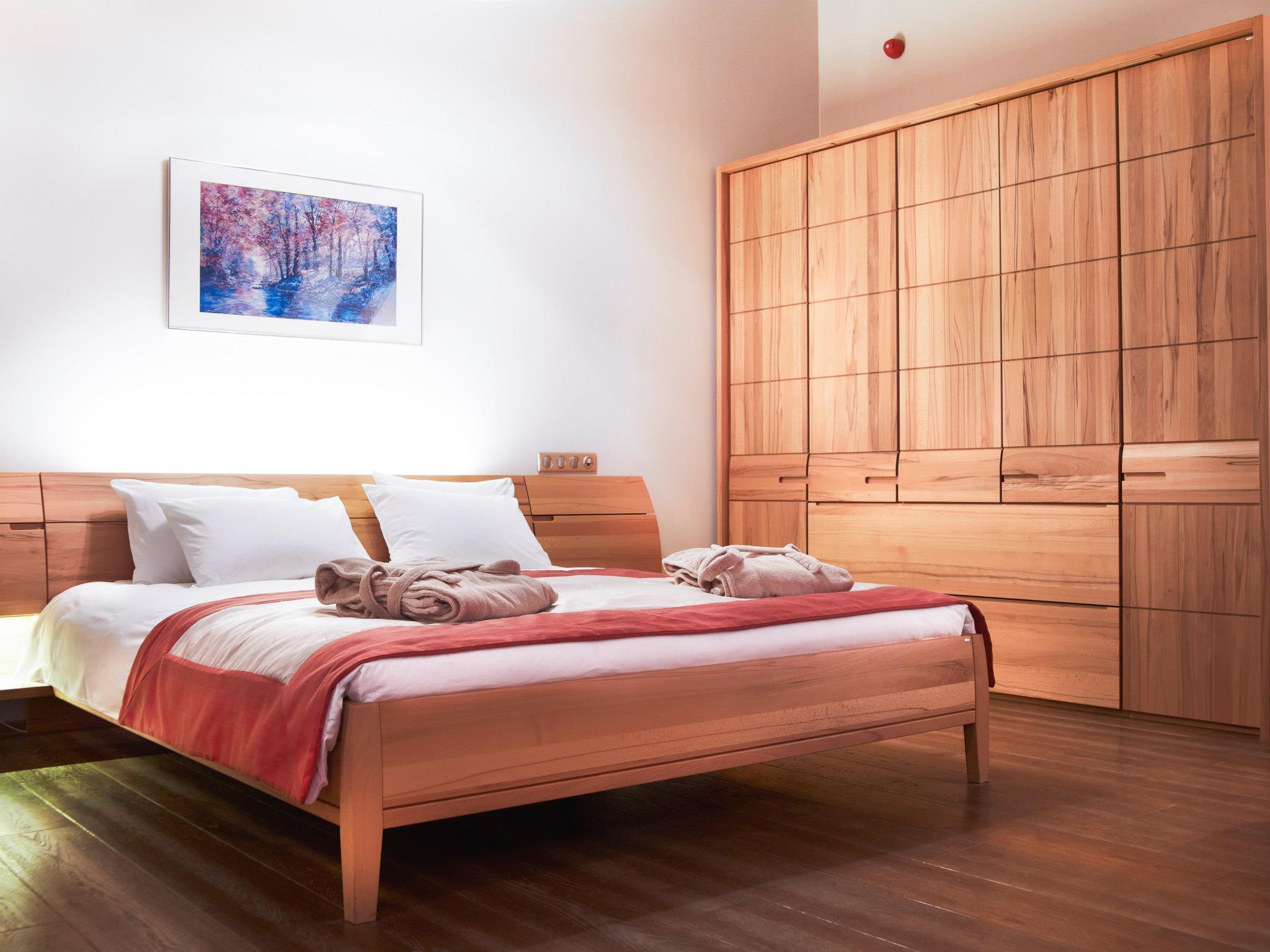 Dormitor din Presidential Suite de la Hotel Ana Sport