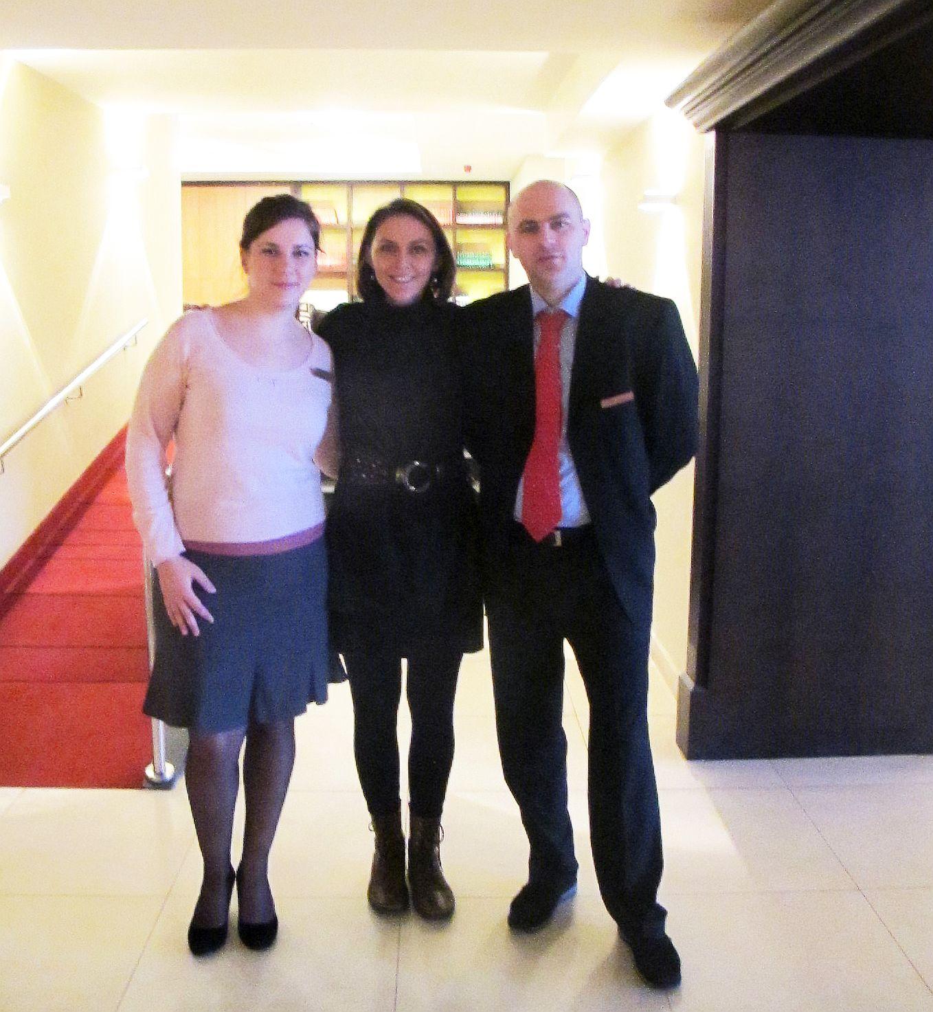 Incadrata de Andreea Ghelase si Dan Nica, oamenii de la Hotel Ana Spot pe care te poti baza daca vrei sa organizezi aici un eveniment
