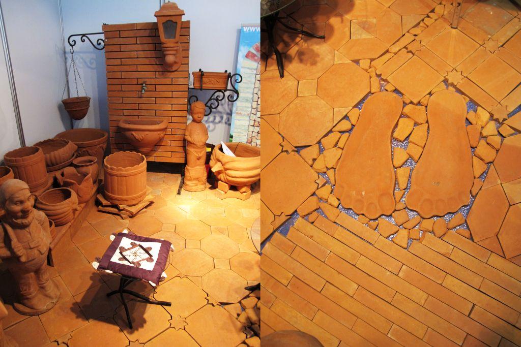 Obiecte si pavaje din teracota produse de firma Teracotta din Serbia
