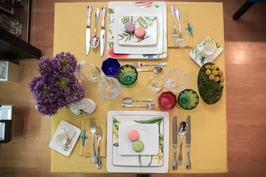 Aranjamentul Primavera cu portelanuri Villeroy & Boch