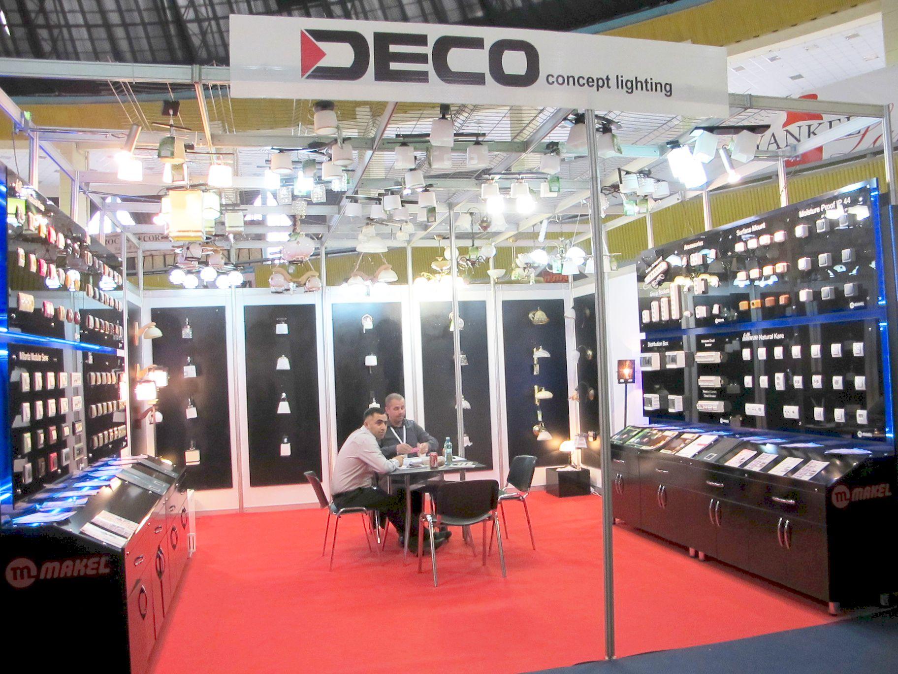 Produse electrice si corpuri de iluminat de la Deco concept lighting