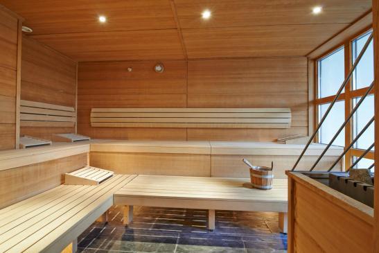 Sauna din cadrul centrului Spa de la Hotel Ana Sport