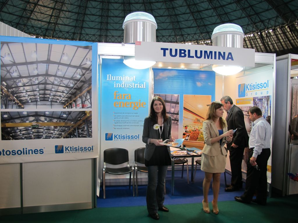 Sisteme Solatube aduse in Romania de catre Tublumina