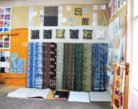 Unul din atelierele laboratoare de la sectia Arte Textile UNArte