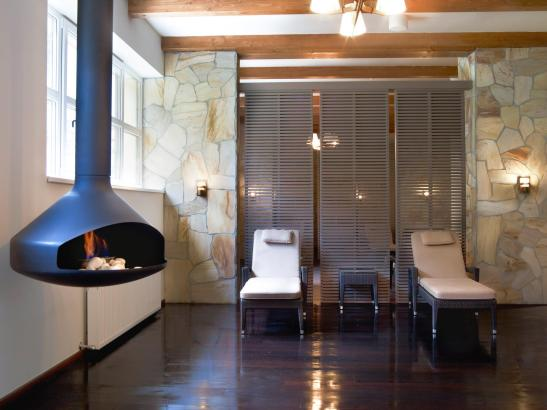 Zona de relaxare la centrul Spa de la Hotelul Ana Sport