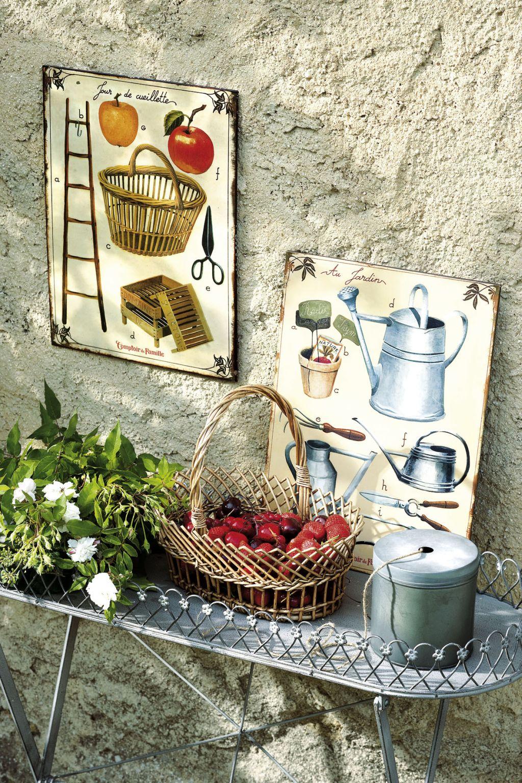 Accesorii si decoratiuni in stil provensal de la Comptoir de Famille