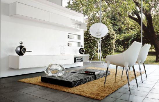 Cristalurile Mario Cioni se potrivesc perfect si in ambiente moderne