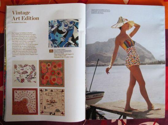 Despre albumul Pucci, Vintage Art Edition publicat de Tachen in catalogul editurii din 2010