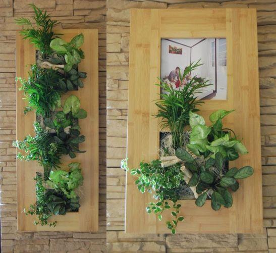 Din colectia Palma tablouri cu plante care inclus si loc de fotografie oferite de Arta Gradinilor
