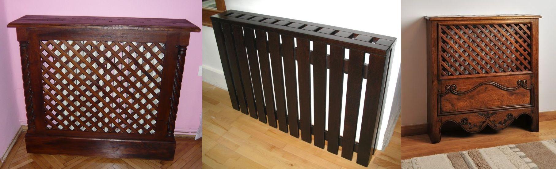 Masti pentru calorifere din lemn realizate de Apollor Romania