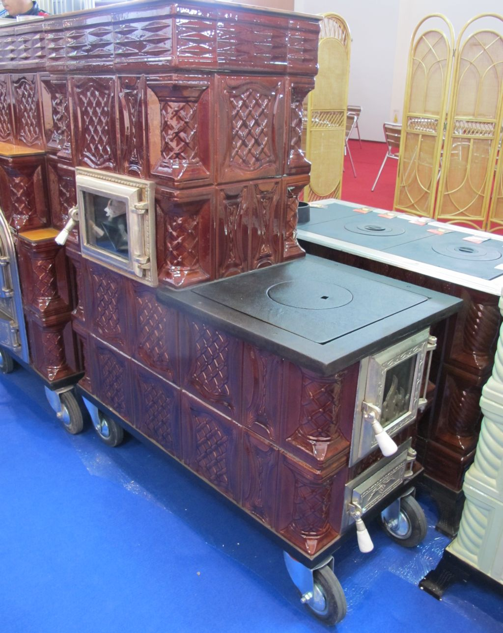 Ingeniozitate romaneasca sobe din teracota pe roti for Dedeman sobe teracota cu plita