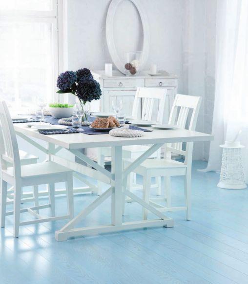 Parchet Karelia Idyllic Spirit Blue Lily Foto V Interjere 5
