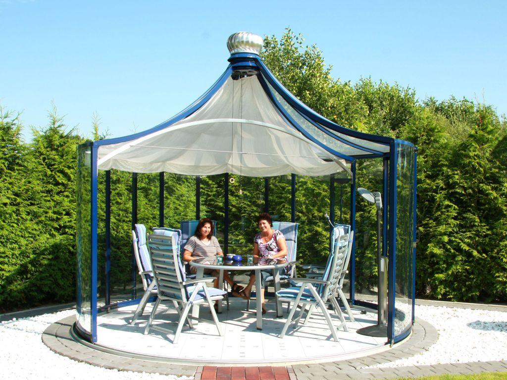 Pavilioanele Rondo de la Hoklatherm se pot deschide si la nivelul acoperisului