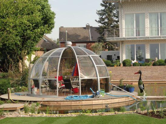 Pavilion Rondo Solar de la Hoklartherm