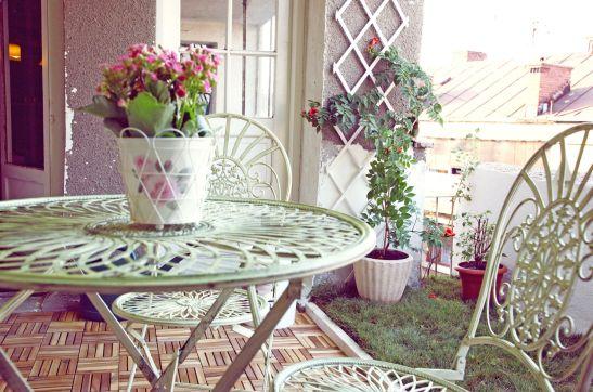 Plantele vor transforma peste vara terasa intr-o oaza de verdeata