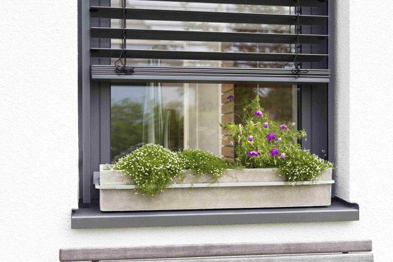 Sistem de siguranta pentru jardiniere si ghivece