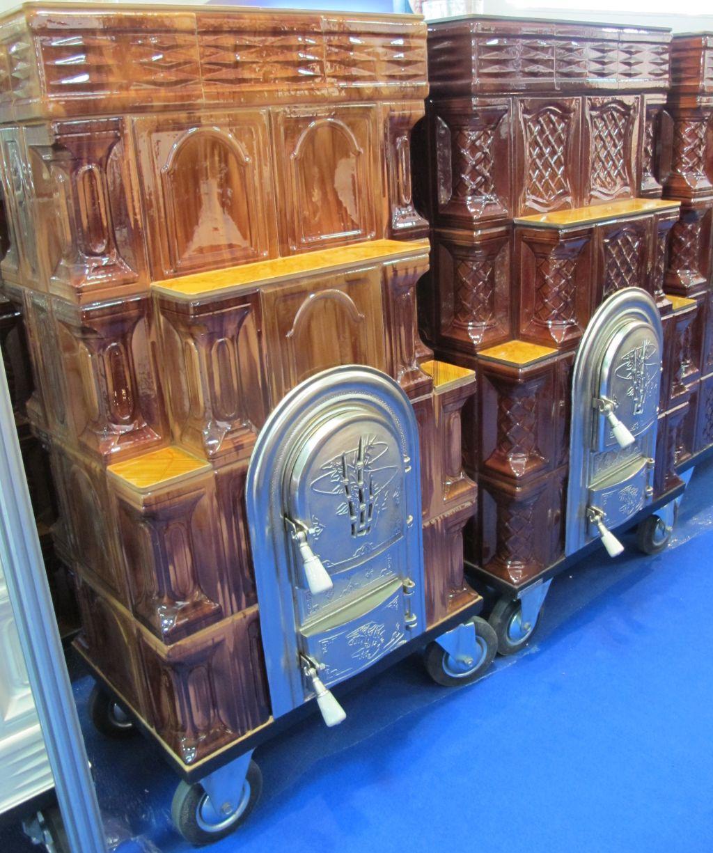 Sobe din teracota pe roti fabricate de FANCRIS