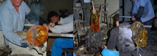 Tati si fii lucreaza impreuna in atelierul Mario Cioni