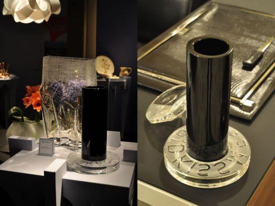 Vaza cu inel a carui mesaj se relfecta la baza obiectului este de mare succes in Dubai