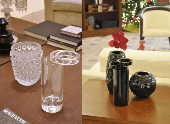 Vazele si obiectele decorative din cristal Mario Cioni pesonalizeaza interioarele