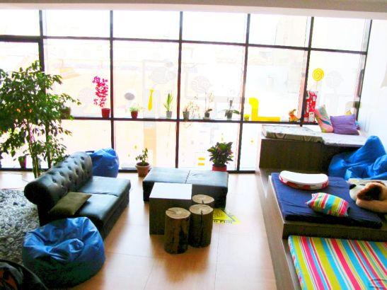 Zona de conversatie la etajul 3