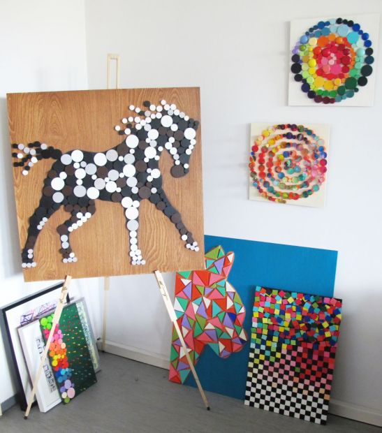 adelaparvu.com despre Liliana Stoica si tablourile sale Deco box (24)