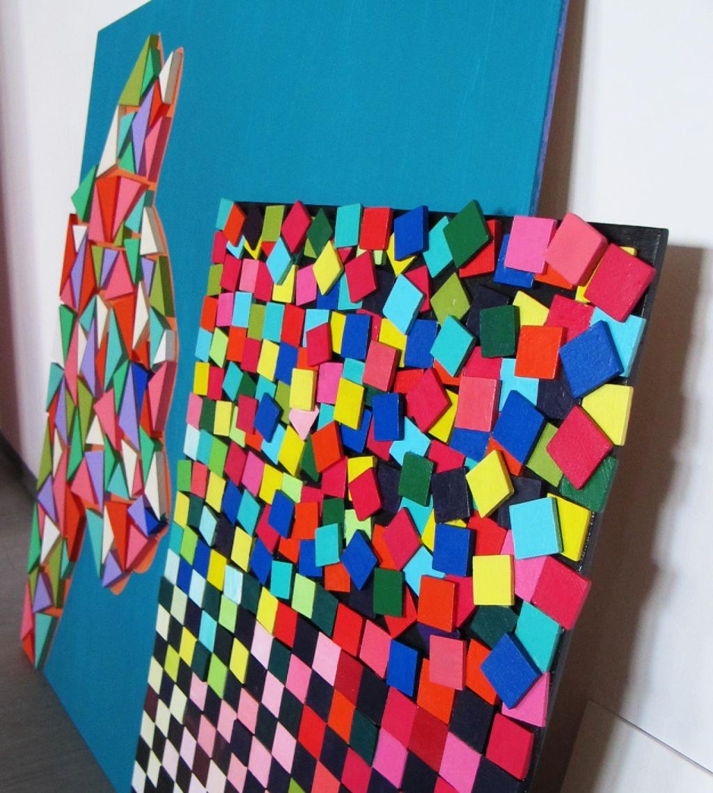 adelaparvu.com despre Liliana Stoica si tablourile sale Deco box (9)