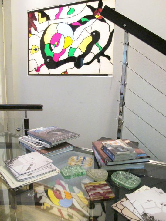 Balustrade, vitratii si mostre de sticla in birourile SuperFaber