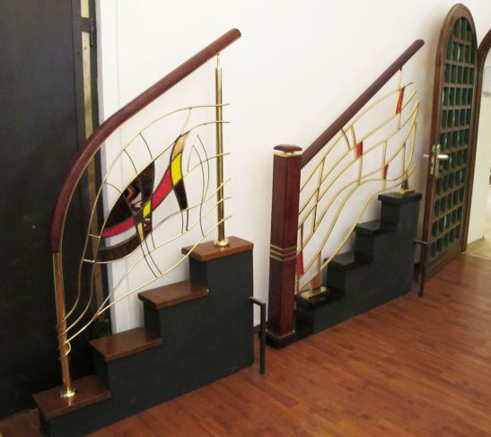 Modele de balustrade cu mana curenta in stil art deco de la SuperFaber