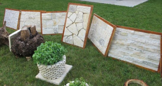 Modele de placari cu piatra pret 60- 80 lei metru patrat de la Vast Natur