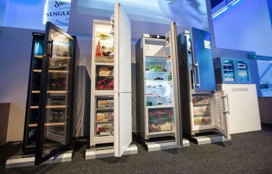 La prezentarea Marelvi a celor mai noi aparate frigorifice Liebherr aduse in Romania. Foto Ovidiu Micsik