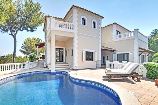adelaparvu.com despre Casa Catala Mallorca Meerblick Villa (6)