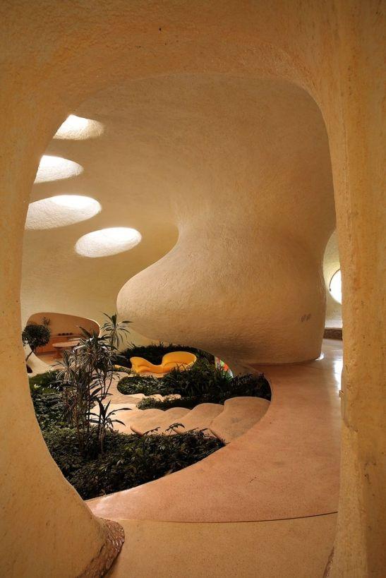 adelaparvu.com despre Casa Nautilus arhitect Javier Senosiain (1)