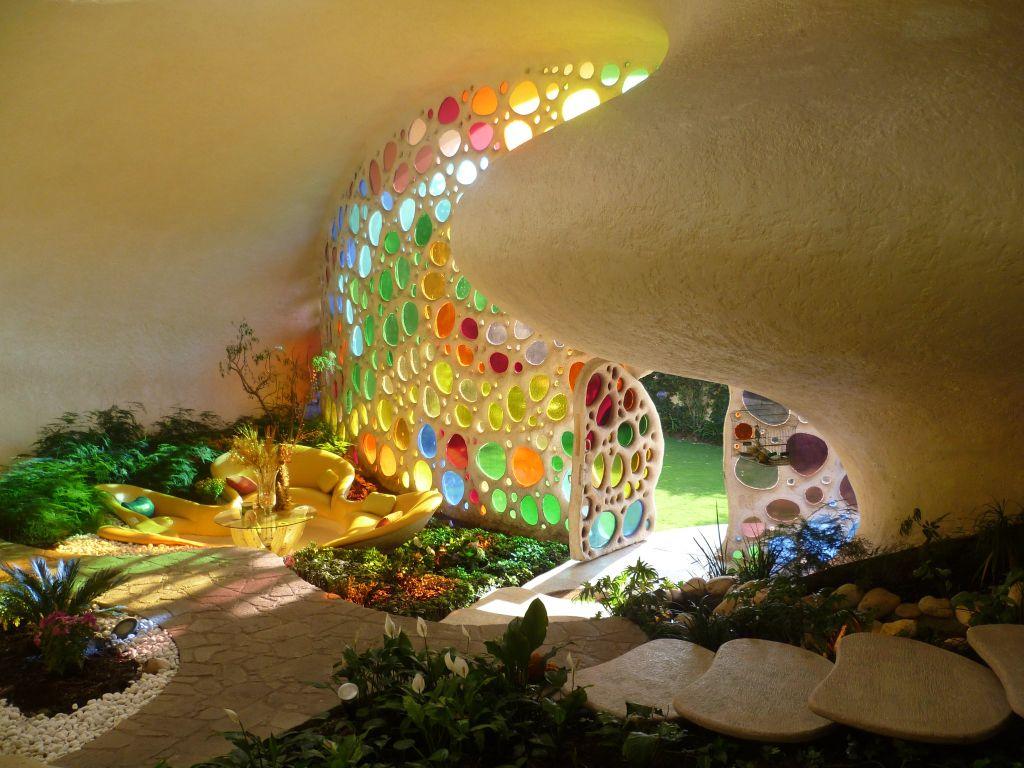adelaparvu.com despre Casa Nautilus arhitect Javier Senosiain (11)