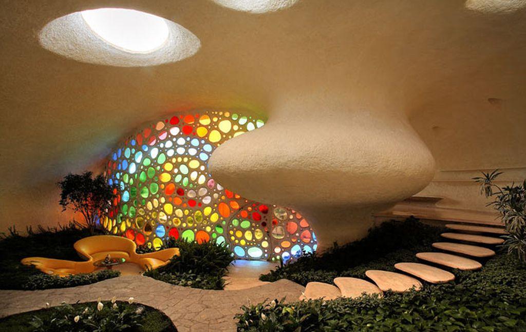 adelaparvu.com despre Casa Nautilus arhitect Javier Senosiain (13)