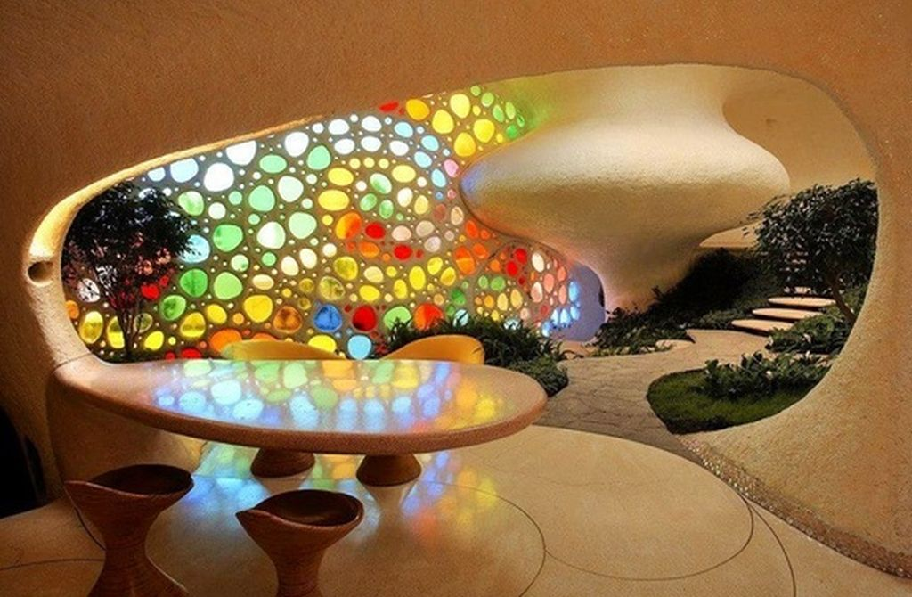 adelaparvu.com despre Casa Nautilus arhitect Javier Senosiain (14)