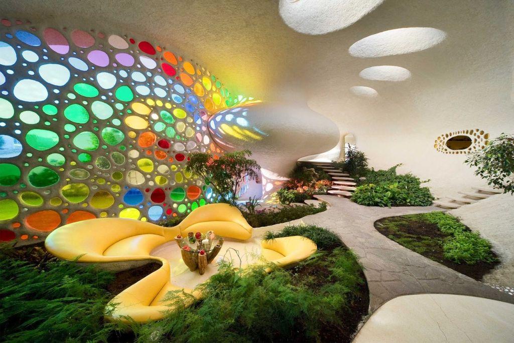adelaparvu.com despre Casa Nautilus arhitect Javier Senosiain (15)