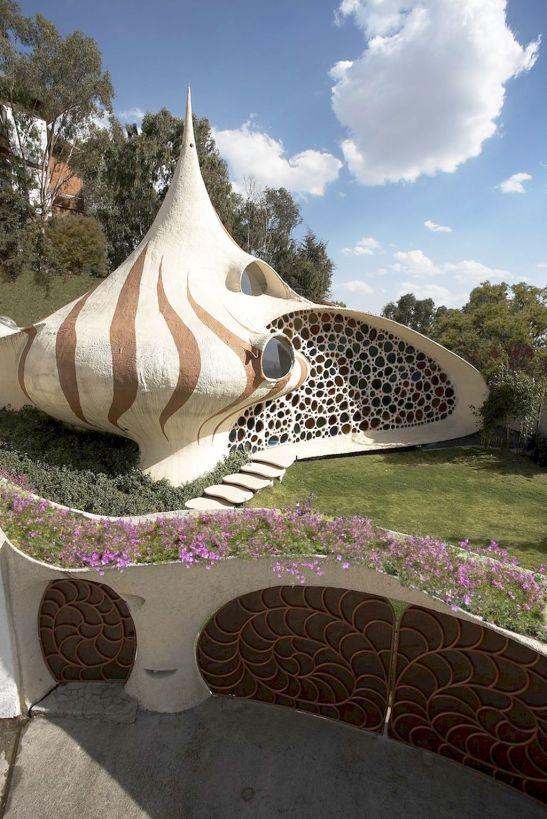 adelaparvu.com despre Casa Nautilus arhitect Javier Senosiain (4)