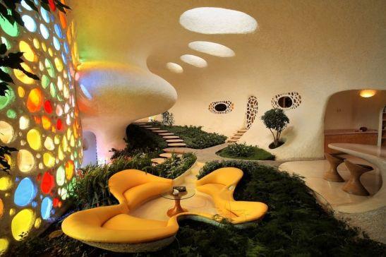 adelaparvu.com despre Casa Nautilus arhitect Javier Senosiain (6)