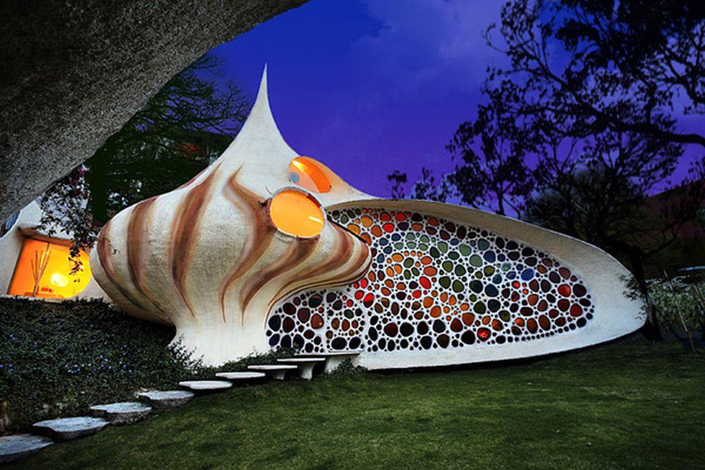 adelaparvu.com despre Casa Nautilus arhitect Javier Senosiain (7)