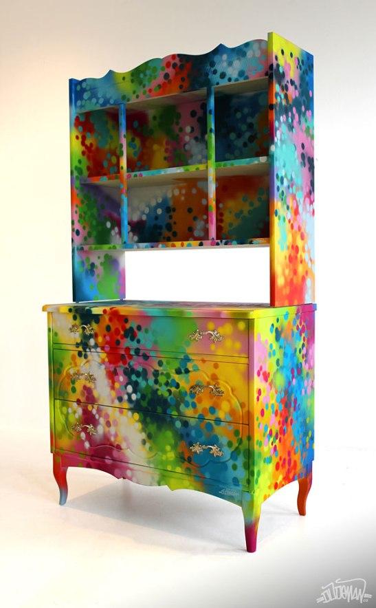 adelaparvu.com despre mobila cu graffiti design Dudeman 4