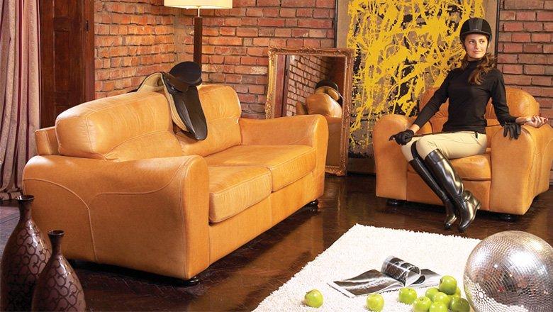 Canapea Barcelona, produsa de Mobila Dalin, fixă 2 locuri pret 1967 lei la Lems