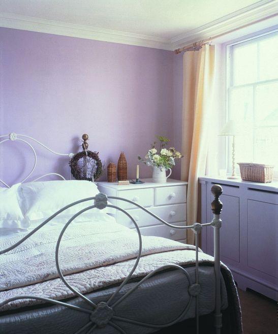 Dormitoarele mov invita la relaxare Foto Copyright © Akzo Nobel