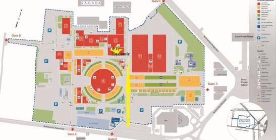 Harte Romexpo unde este indicat locul conferintei Dynamic 29 Fields iulie 2013
