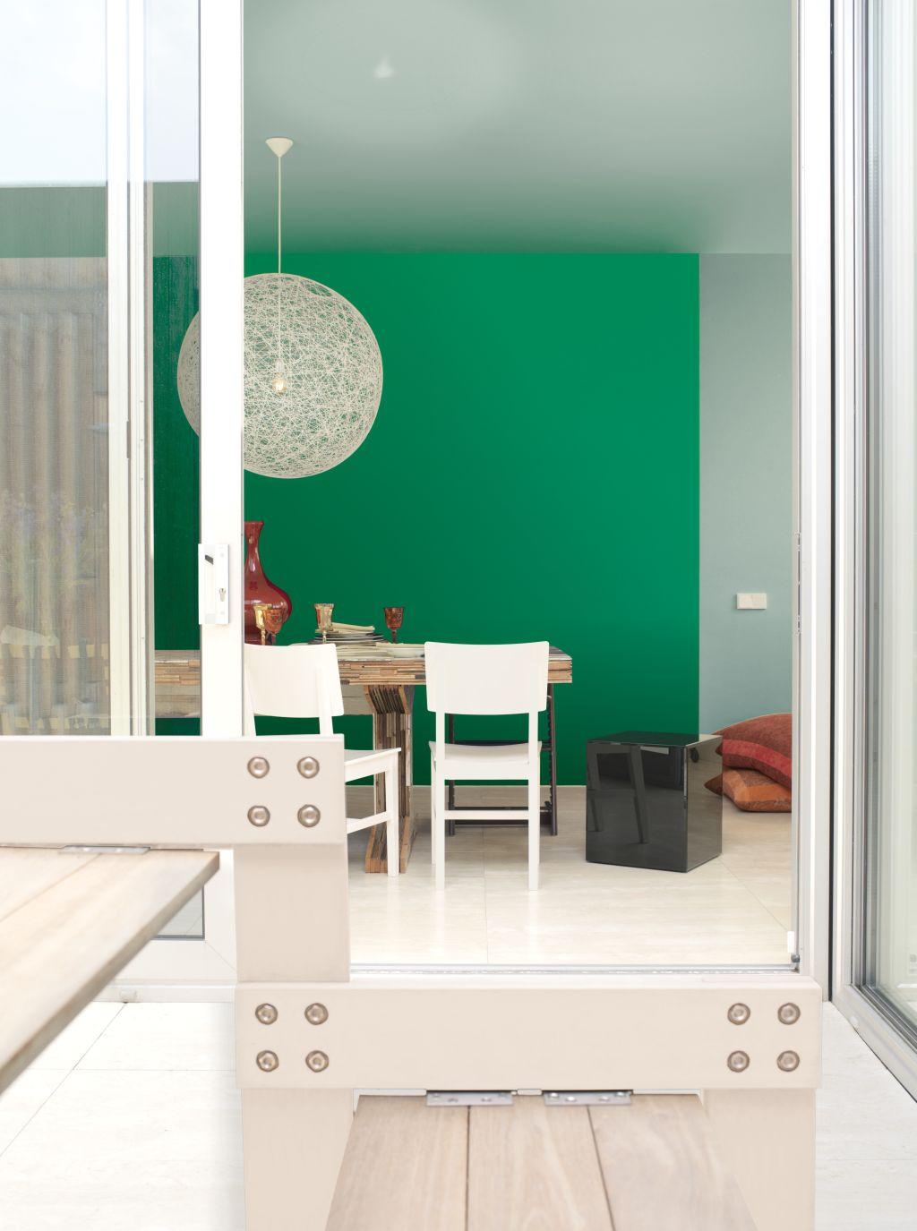 Adu natura in casa ta o viata avem colorata sa fie in nuante de verde adela p rvu - Keuken wit en groen ...