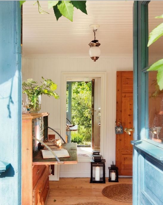 adelaparvu.com despre casa in stil rustic suedez designer Lorenza Meazza foto El Mueble (1)