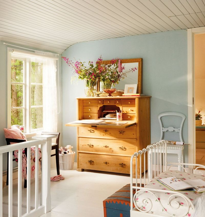 adelaparvu.com despre casa in stil rustic suedez designer Lorenza Meazza foto El Mueble (11)