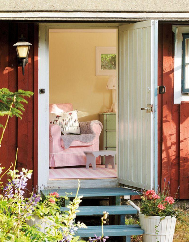 adelaparvu.com despre casa in stil rustic suedez designer Lorenza Meazza foto El Mueble (20)
