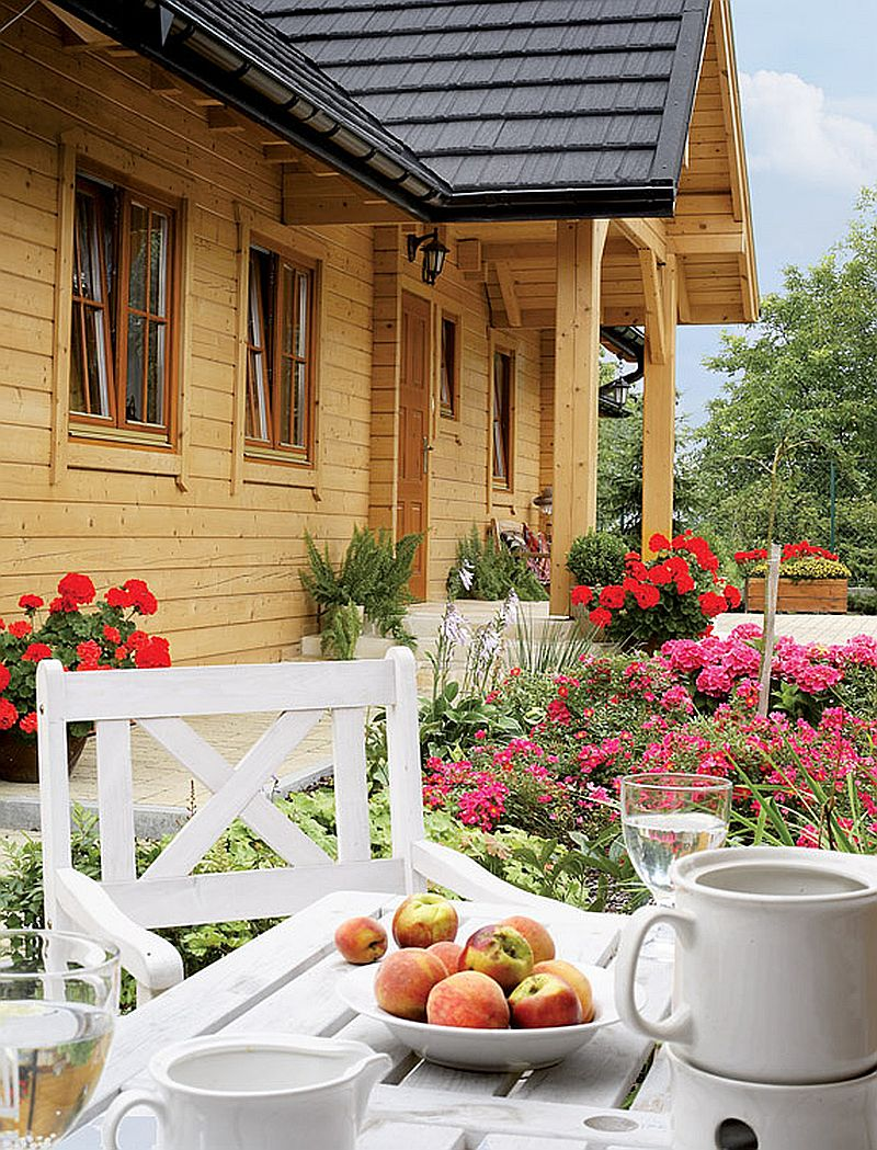 adelaparvu.com despre casa traditionala Foto Michael Przeździk, Weranda Country (1)