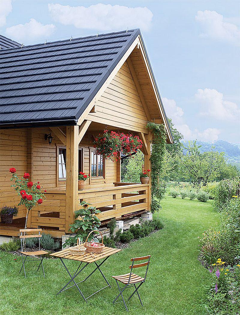 adelaparvu.com despre casa traditionala Foto Michael Przeździk, Weranda Country (2)